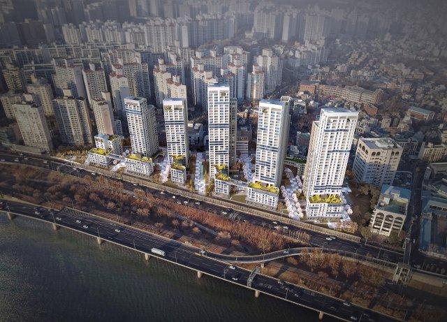 한강변 용산 산호아파트… 최고 35층으로 '재건축'
