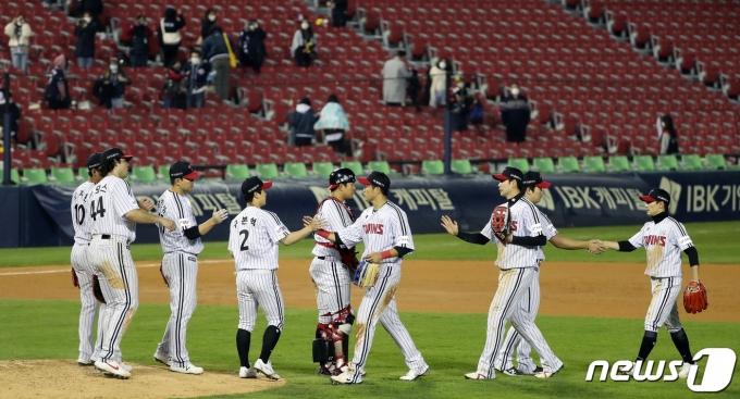 [사진] LG, 우리가 승리했다