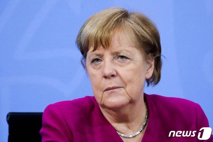 앙겔라 메르켈 독일 총리. © AFP=뉴스1