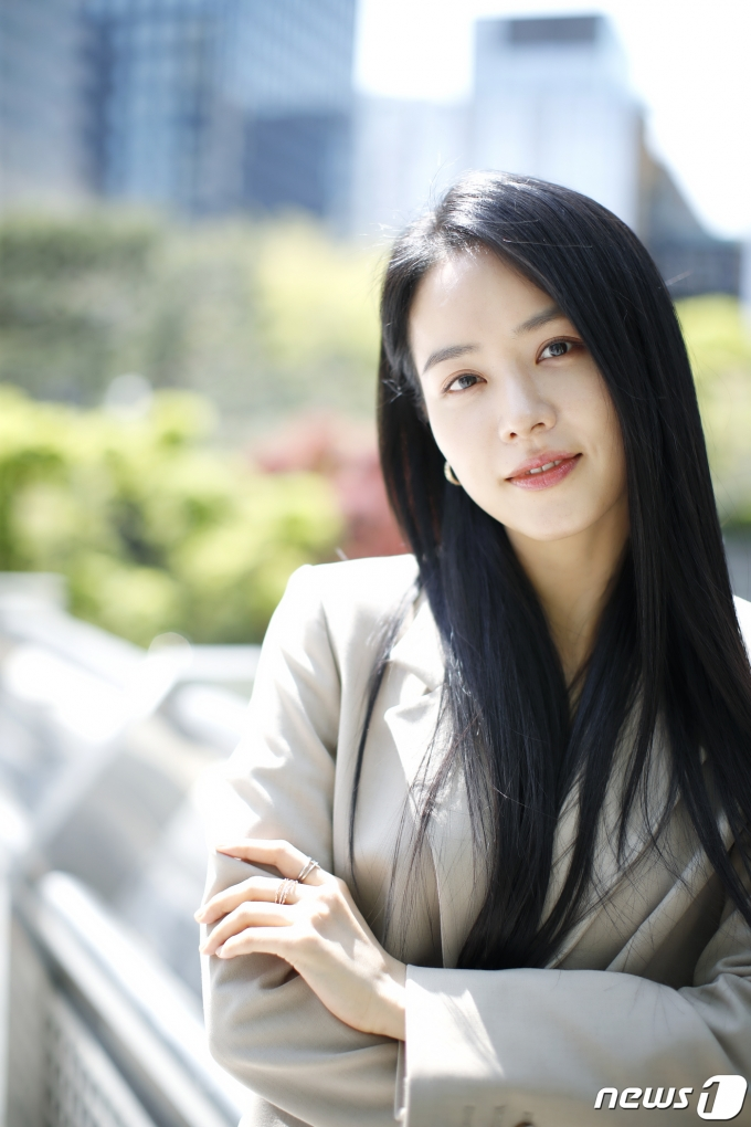 [사진] 안지혜, 봄날의 청순 여신