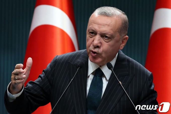 레제프 타이이프 에르도안 터키 대통령. © AFP=뉴스1 © News1 우동명 기자
