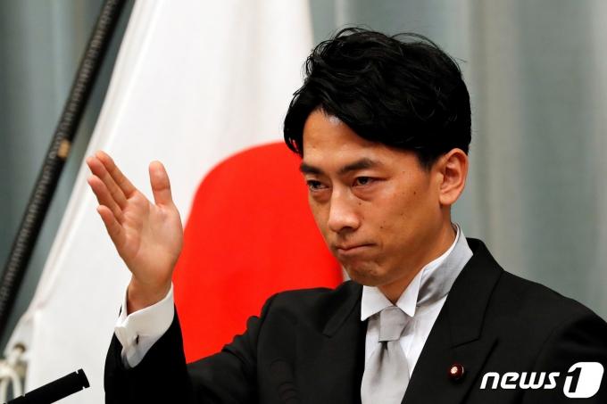 고이즈미 신지로 일본 환경상 <자료사진> © 로이터=뉴스1