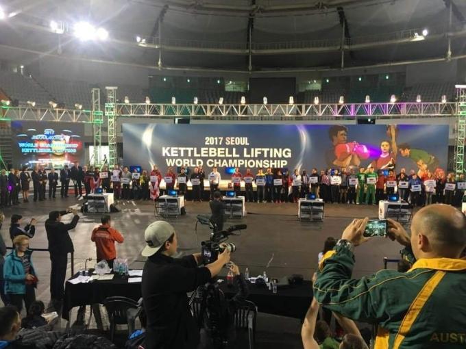 서울에서 열린 케틀벨리프팅 월드컵은 성대하게 치러졌다.(대한케틀벨리프팅협회 제공)© 뉴스1