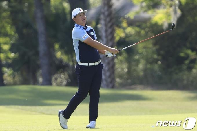 미국프로골프(PGA)투어의 임성재. © AFP=뉴스1