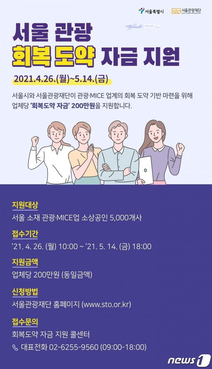 '서울 관광 회복도약 자금'(서울시 제공)© 뉴스1