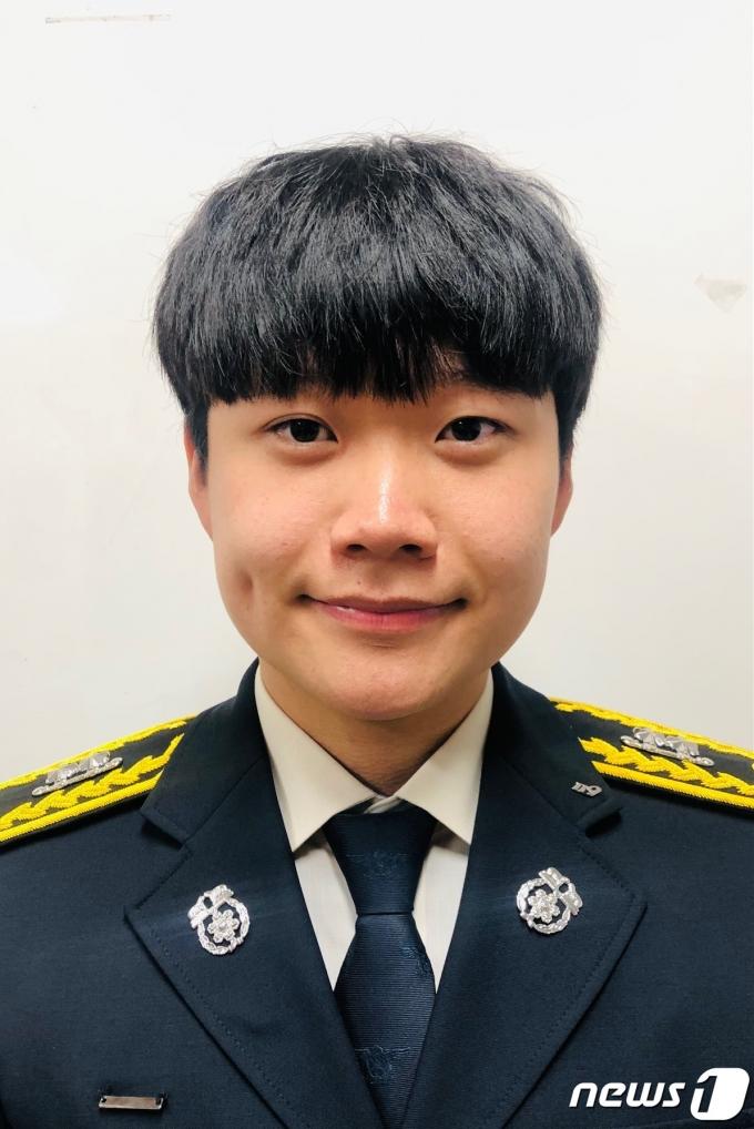 음성소방서 감곡119안전센터 김주훈 소방사(소방청 제공)© 뉴스1