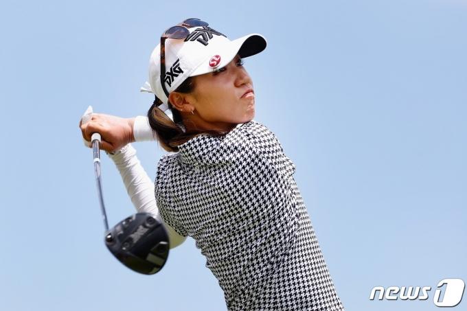 미국여자프로골프(LPGA) 투어 롯데 챔피언십 우승을 차지한 리디아 고. © AFP=뉴스1
