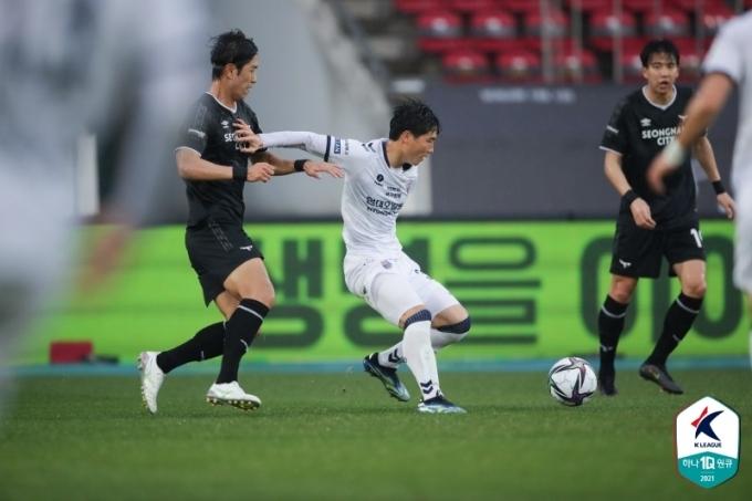 울산 현대 강윤구. (한국프로축구연맹 제공) © 뉴스1