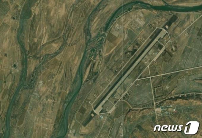 북한 평안북도 의주비행장 위성사진 (38노스 디지털 아틀라스 캡처) © 뉴스1