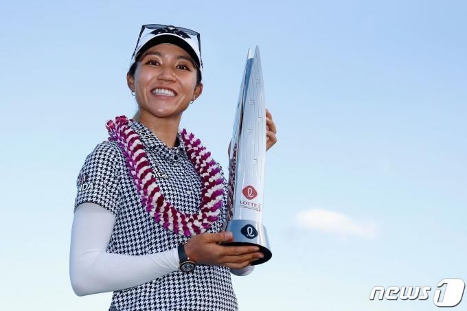 미국여자프로골프(LPGA) 롯데 챔피언십에서 우승을 차지한 리디아 고(뉴질랜드) © AFP=뉴스1