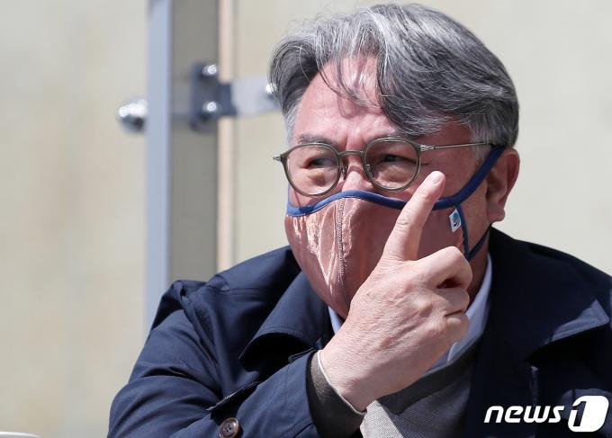 [사진] 김경문 감독 '날카로운 눈빛'