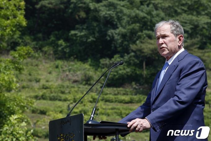 조지 W. 부시 전 미국 대통령. (노무현재단 제공) 2019.5.23/뉴스1