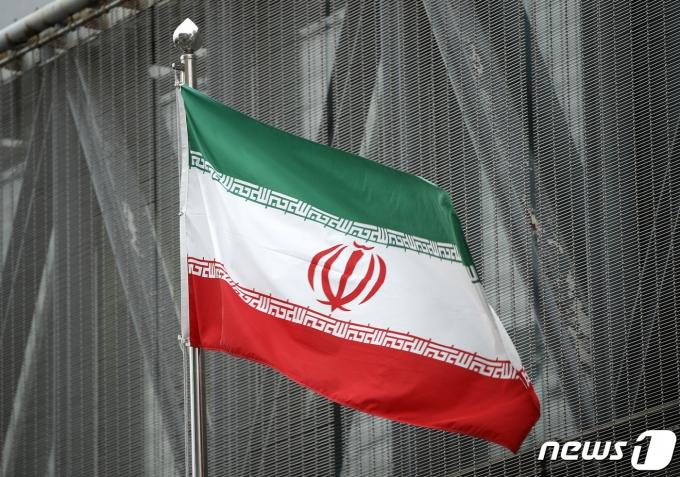 이란 국기. 2020.1.8/뉴스1 © News1 안은나 기자