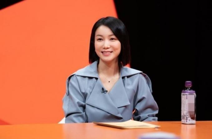 """김옥빈이 """"김종국 같은 스타일도 좋다""""고 이상형을 고백하면서 시청자들의 설렘 지수를 높였다. /사진=SBS 제공"""