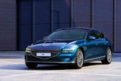 중국은 전기차로 공략… 제네시스, 상하이서 'G80 전동화 모델' 세계최초 공개