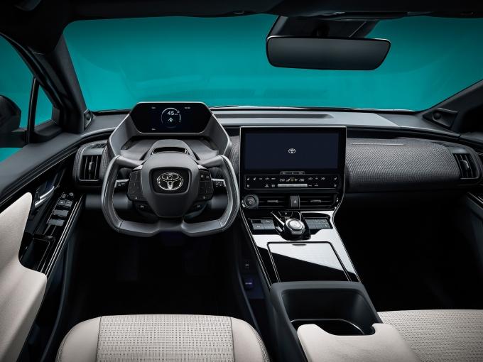 토요타 bZ4X의 컨셉 차 내부 모습./사진=한국토요타자동차
