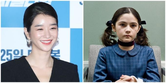 배우 서예지(왼쪽)가 명작으로 꼽은 영화 '오펀'의 스토리에 누리꾼들의 관심이 모아졌다. /사진=뉴스1, 네이버 영화