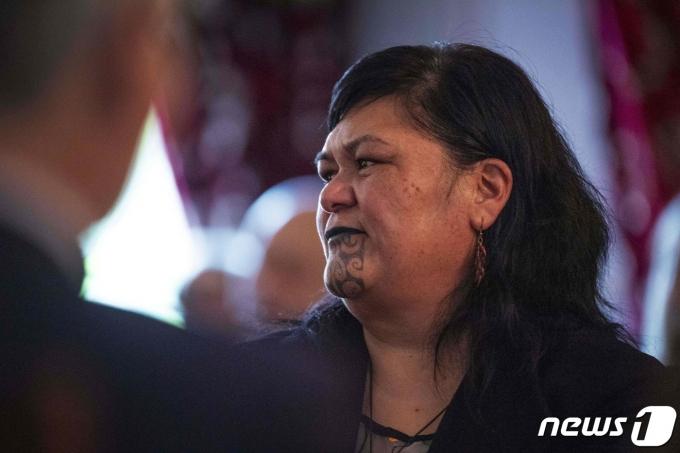 나나야 마후타 뉴질랜드 외무장관. © AFP=뉴스1