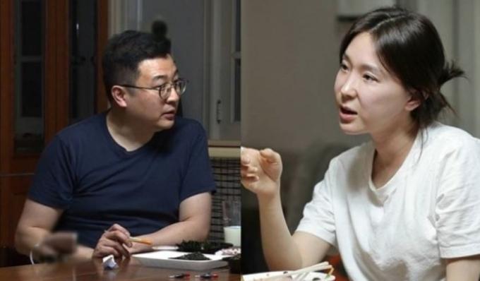 문재완이 이지헤와의 첫만남을 회상했다. /사진=sbs 제공