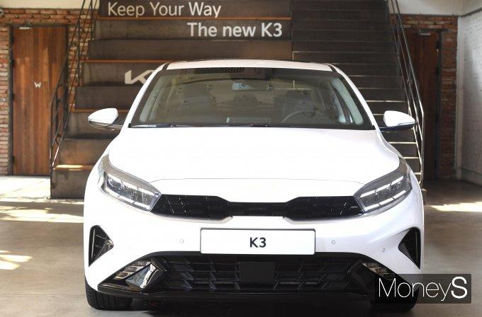 [머니S포토] 기아, '더 뉴 K3(The new K3)' 출시