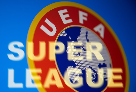 잉글랜드, 스페인, 이탈리아 리그 등에 속한 12팀은 지난 19일(한국시각) 유럽슈퍼리그 창설을 결정했다. /사진=로이터