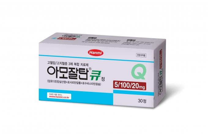 한미약품 고혈압·고지혈증 3제 복합신약 '아모잘탄큐'가 사노피를 통해 러시아 시장에 진출한다./사진=한미약품