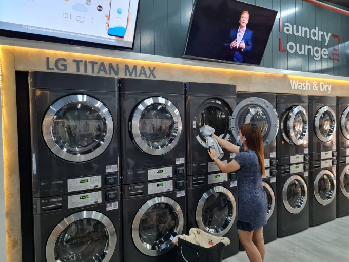LG전자가 상업용 세탁기 시장 공략에 속도를 낸다. / 사진=LG전자