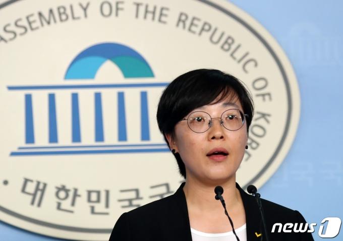 오현주 정의당 대변인. © News1 김명섭 기자