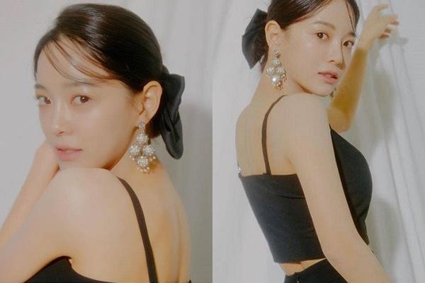 """""""여인의 향기""""… 김세정, 매끈한 뒤태 '몰라보겠어'"""