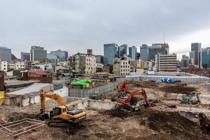 서울 은평구 대조동의 한 아파트 재개발 현장에서 조선시대 것으로 추정되는 유골 3구가 발견됐다. 사진은 기사 내용과 무관함. /사진=이미지투데이