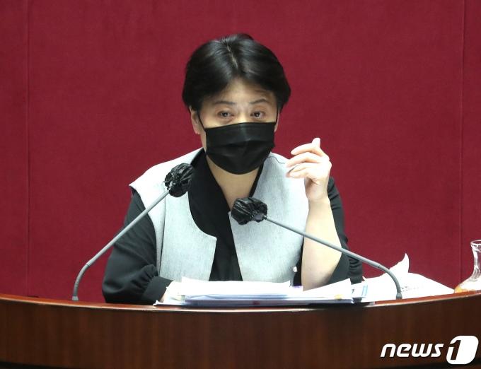 윤희숙 국민의힘 의원/뉴스1 © News1 박세연 기자