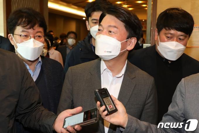 안철수 국민의당 대표/뉴스1 © News1 공정식 기자