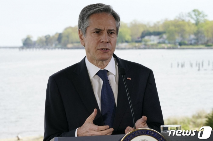 토니 블링컨 미국 국무장관. © AFP=뉴스1