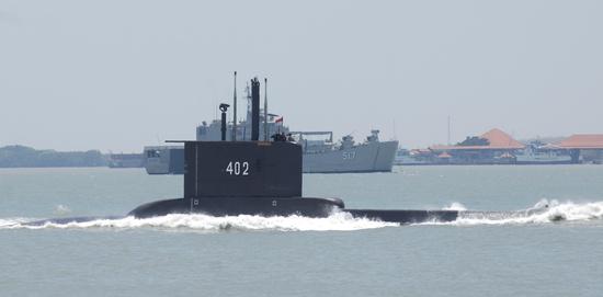 독일제 잠수함인 KRI 낭갈라 402호가 인도양·발리해로 연결되는 자바섬과 발리해협에서 훈련 중 연락이 두절됐다. /사진=로이터
