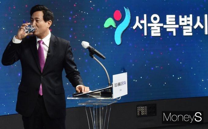 """[머니S포토] 오세훈 """"피해자에 사과 당연… 박원순 사건, 대한민국 모든 아들·딸의 일"""""""
