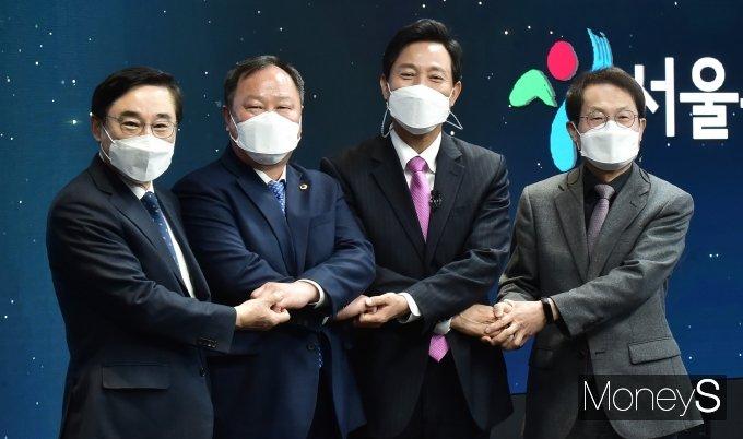 """[머니S포토] 오세훈 시장 """"서울의 재도약 위한 준비 바로 시작할 것"""""""