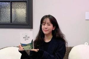 """한지민, 법륜 스님 책 녹음…""""뭘 해도 예뻐"""""""