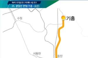 분당선 오산 연장, 국가철도망사업으로 사실상 결정