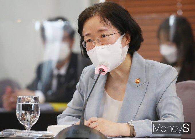 [머니S포토] 환영사 전하는 조성욱 공정위원장