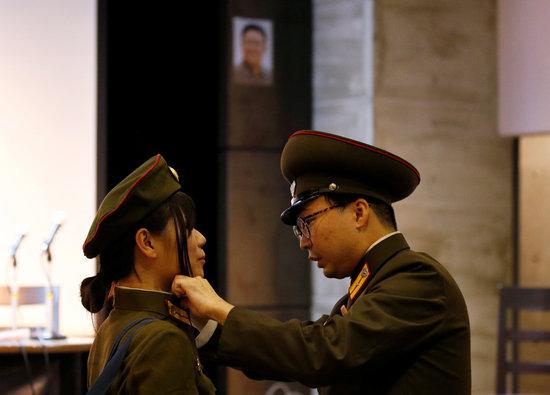 북한은 지난 2019년 말부터 여성 징병제가 실시된 것으로 알려지고 있다. 북한은 군 복무를 한 여성에게 노동당 입당, 대학교 입학 추천 등 특별 대우를 해주는 것으로 전해졌다. /사진=로이터