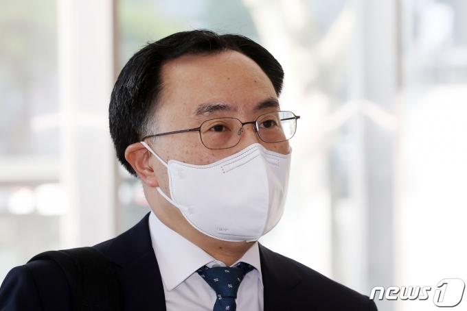 문승욱 산업통상자원부 장관 후보자./뉴스1 © News1 조태형 기자