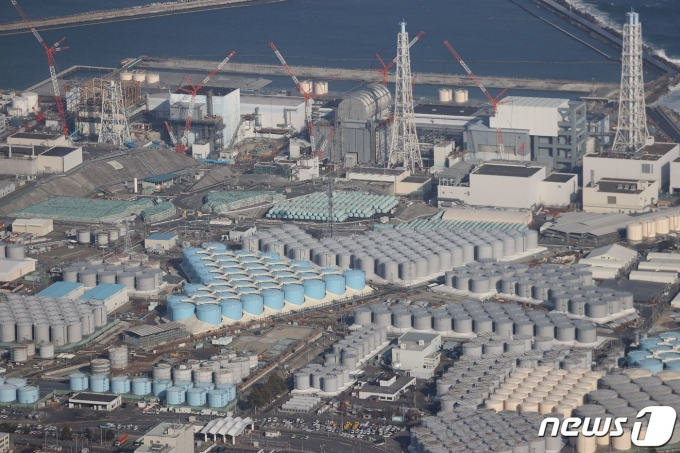 후쿠시마 제1원전. © AFP=뉴스1