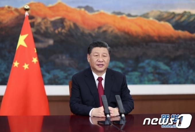 시진핑 중국 국가주석(신화망 갈무리)© 뉴스1