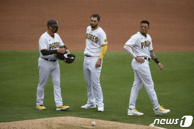 메이저리그(MLB) 샌디에이고 파드리스가 최근 3연패에 빠졌다. © AFP=뉴스1