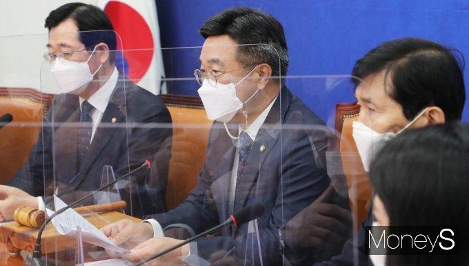 """[머니S포토] 윤호중 비대위 """"공직사회 청렴성 한단계 더 도약할 것"""""""