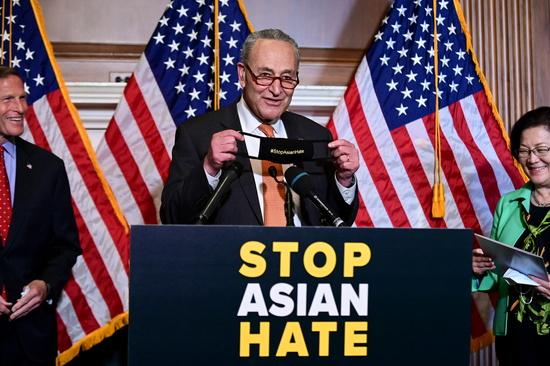 미국 상원, 아시아계 증오 범죄 방지 법안 가결