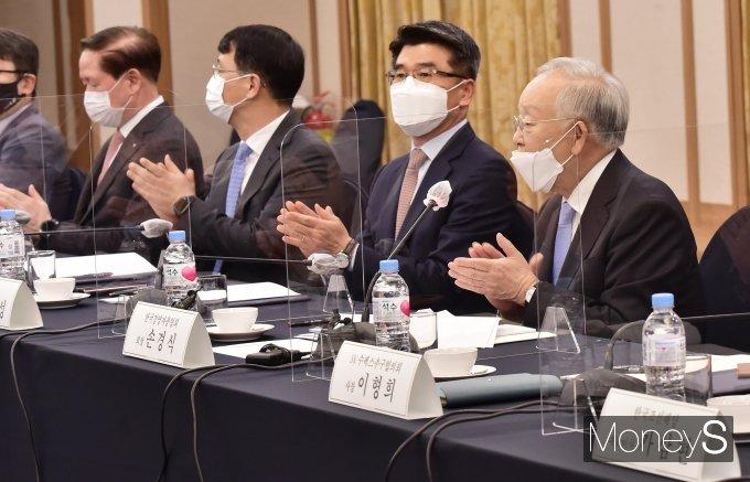 [머니S포토] 손경식 경총 회장, ESG 위원장 추대