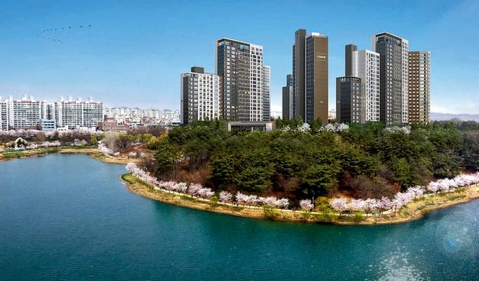 군산 호수공원 아이파크 /사진제공=HDC현대산업개발