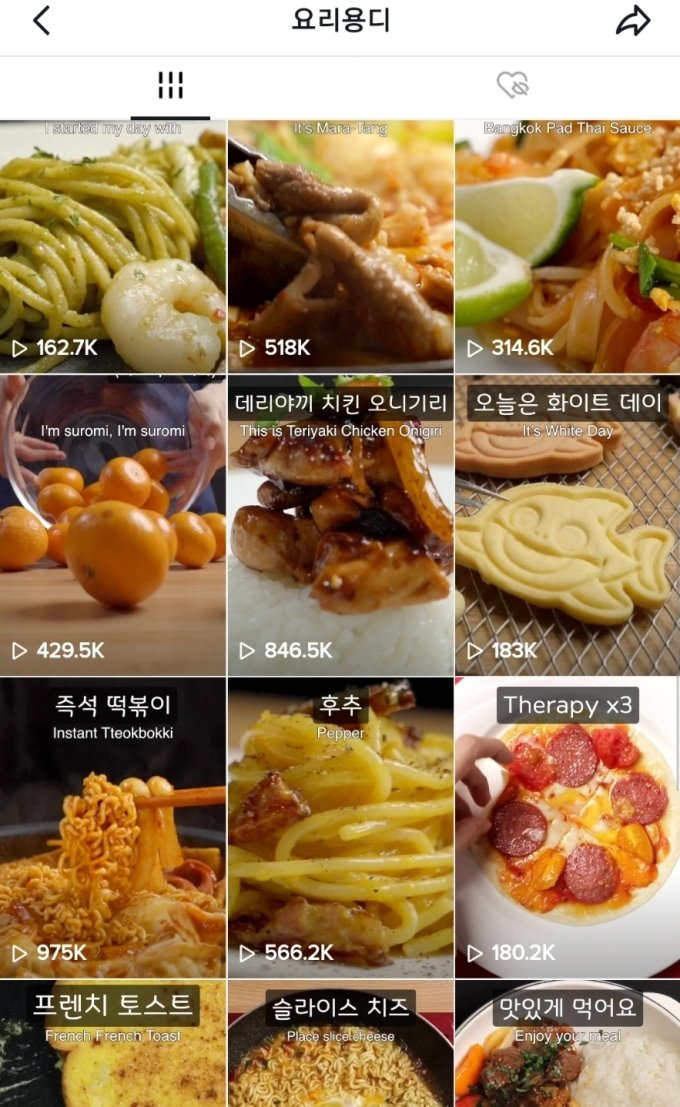"""[크리에이터 따라잡기]틱톡계의 성시경 '요리용디'… """"맛있게 먹어요"""""""