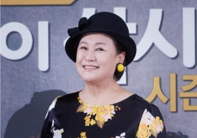 지난 2월 오후 온라인으로 진행된 KBS 2TV '박원숙의 같이 삽시다' 시즌3 제작발표회에 박원숙이 참석했다. /사진=KBS 제공